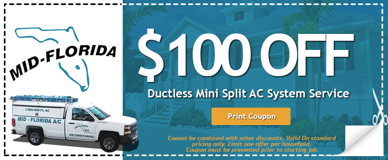 Ductless Mini Split Print Home Air Conditioning