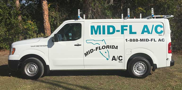 Mid Florida A C Air Conditioning And Heating Services